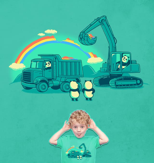 Collecting Colors by ben chen on Threadless