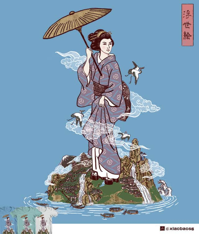 The Floating World by xiaobaosg on Threadless
