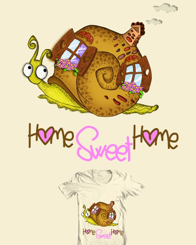 Home Sweet Home by Anna Luce on Threadless