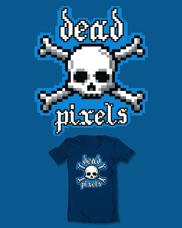Dead Pixels by srvalladares on Threadless